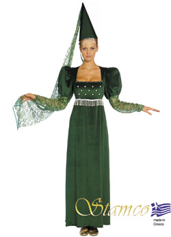 Costume Lady In Green