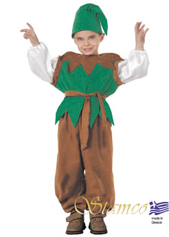 Costume Little Goblin Brown