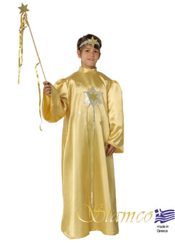 Costume Gold Star