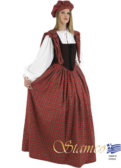 Costume Scotsgirl