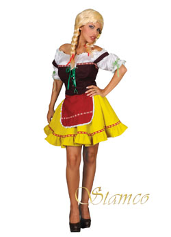 Costume Helga Yellow