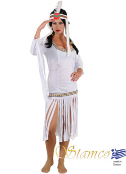 Costume White Indian