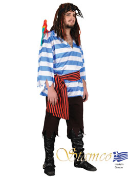 Costume Blue Pirate