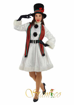 Costume Snow Woman