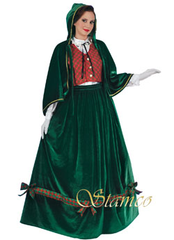 Costume Christmas Caroler