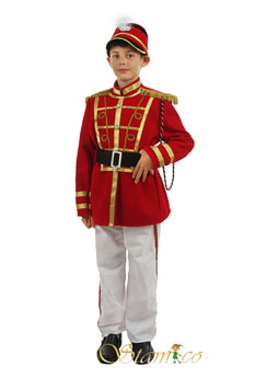 Costume Little Drumer White