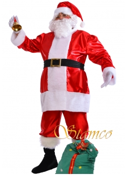 Costume Santa Claus Satin XXL