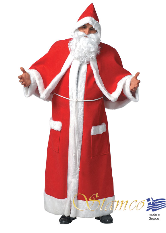 Costume Santa Claus Cape