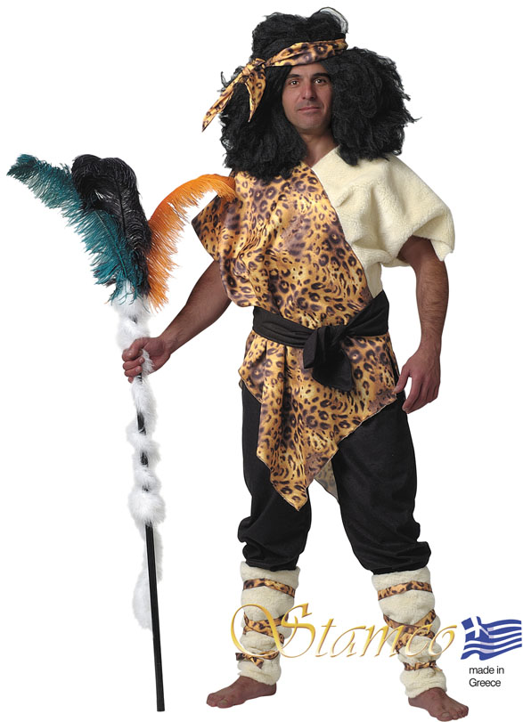 Costume Zoulou