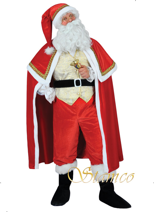 Costume Santa Claus Gold